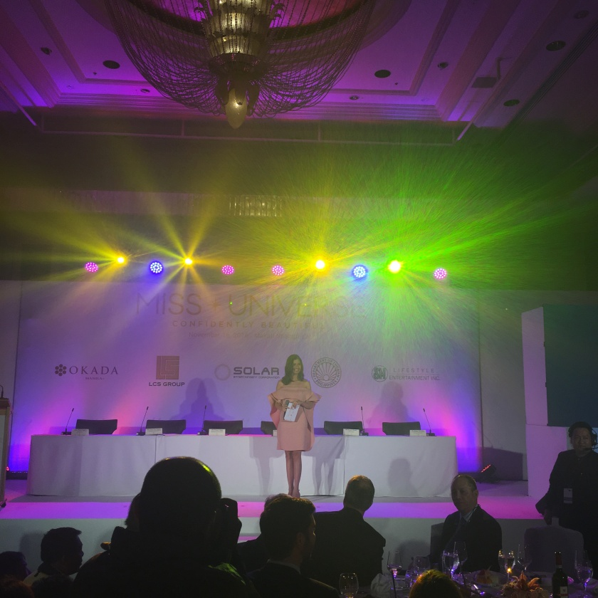 Shamcey Supsup Lee hosting the launch