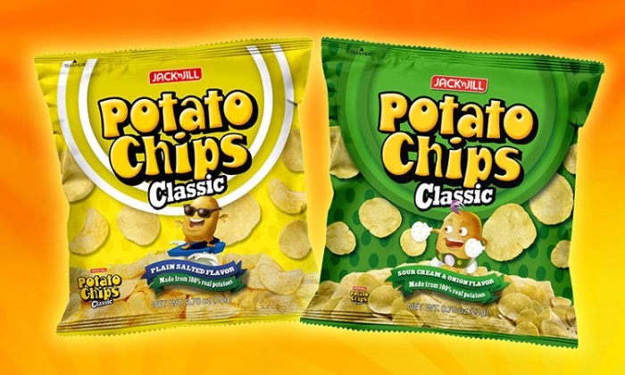 jack 'n jill Potato Chips Classic