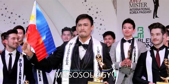 Mister International 2014 Neil Perez