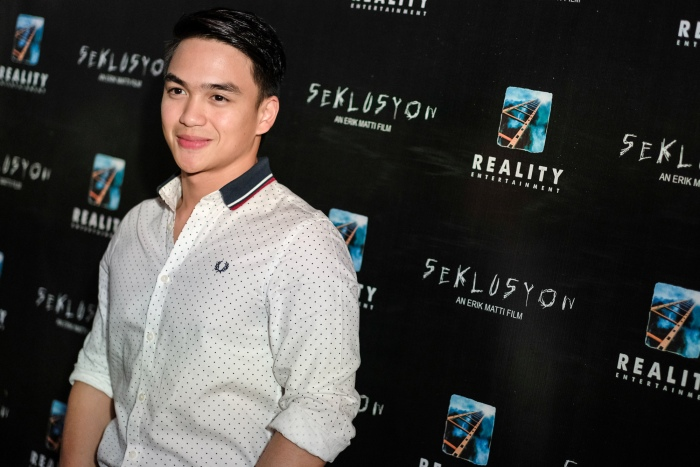Dominic Roque in Seklusyon movie