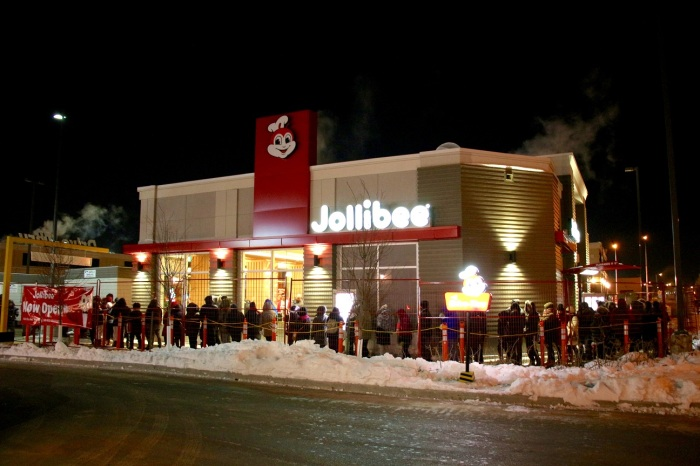 Long queues welcome first Jollibee store in Canada