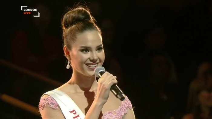 Catriona Gray of the Philippines