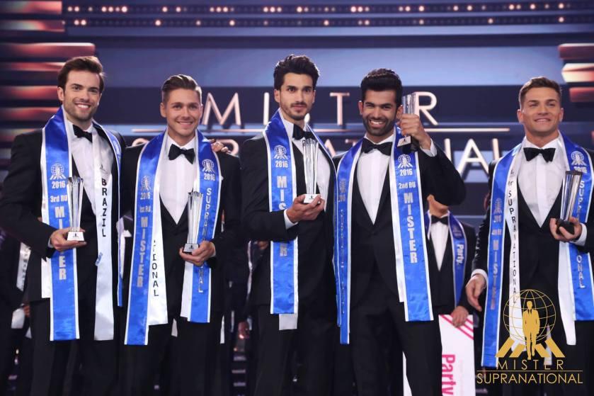 Mister Supranational 2016 winners