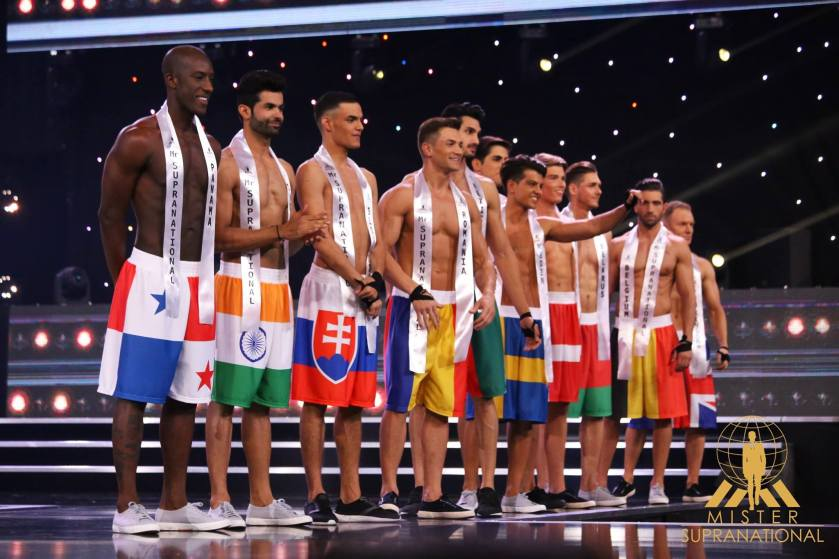 The Top 20 of Mister International 2016 in their swimwear - batch 2.