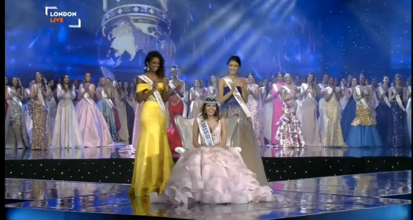 Puerto Rico wins its second Miss World crown