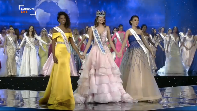 Miss World 2016 winners