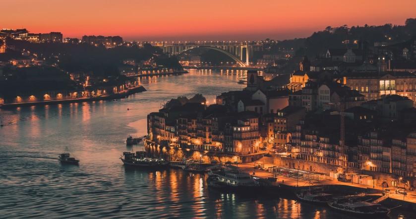 The City of Porto in Portugal