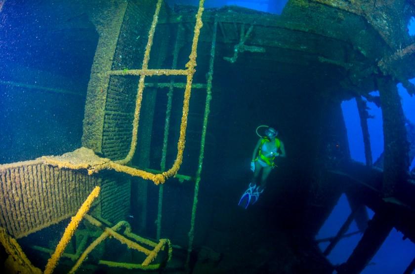 SMS Cormoran in Guam - Diving Spot