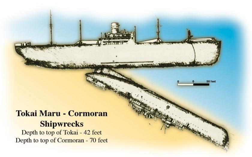 Guam SMS Cormoran Diving Spot