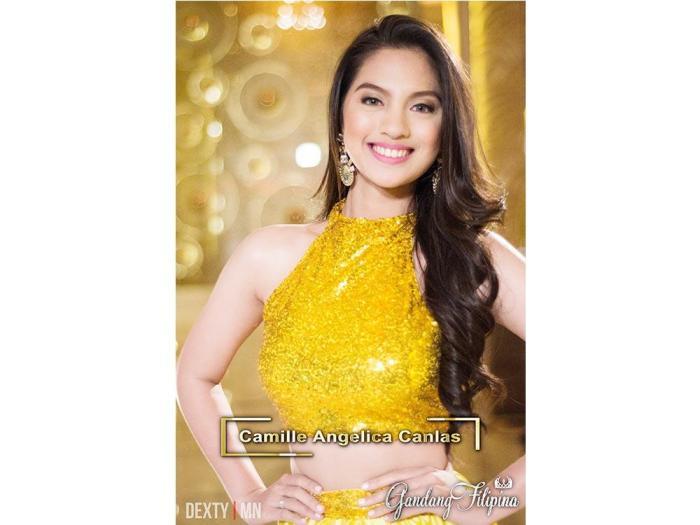 Camille Angelica Canlas of Gandang Filipina 2017