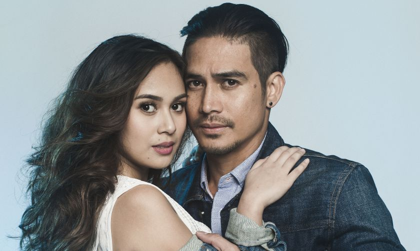 Northern Lights movie stars Piolo Pascual and Yen Santos