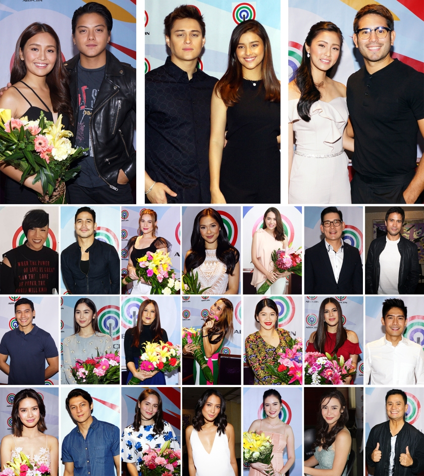 Philippines' biggest stars sign with ABS-CBN