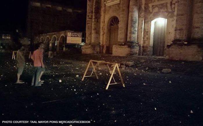 Batangas Quake 2017 Church