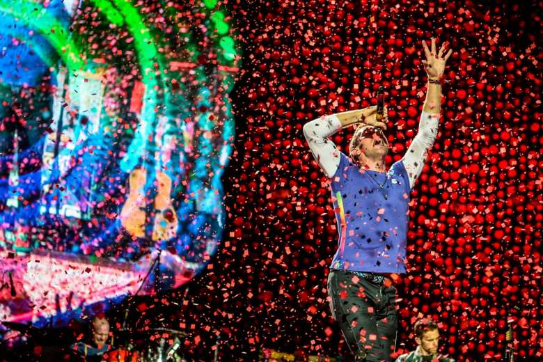 Coldplay in Singapore by Mark Cheong of Straitstimes