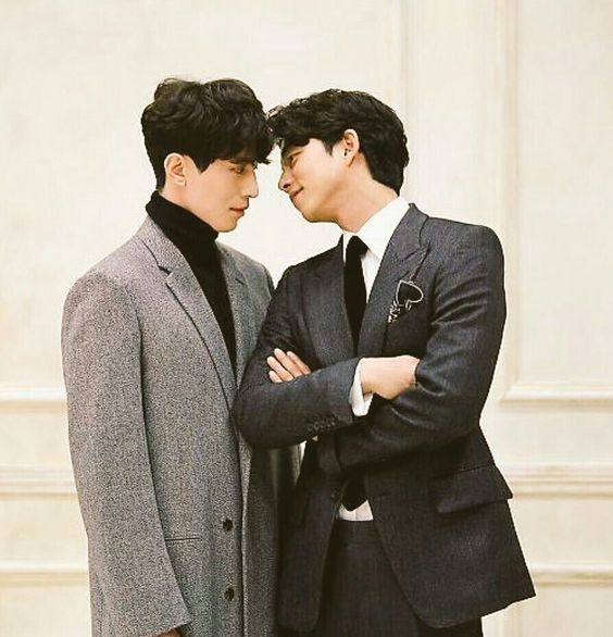 Lee Dong Wook and Gong Yoo Sweet