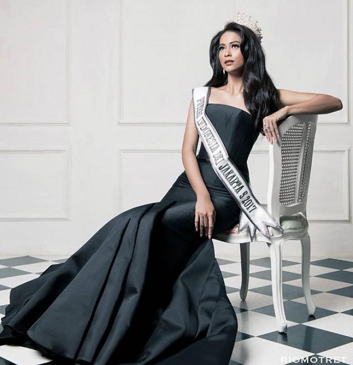 Miss Universe Indonesia 2017 Bunga Jelitha Ibrani