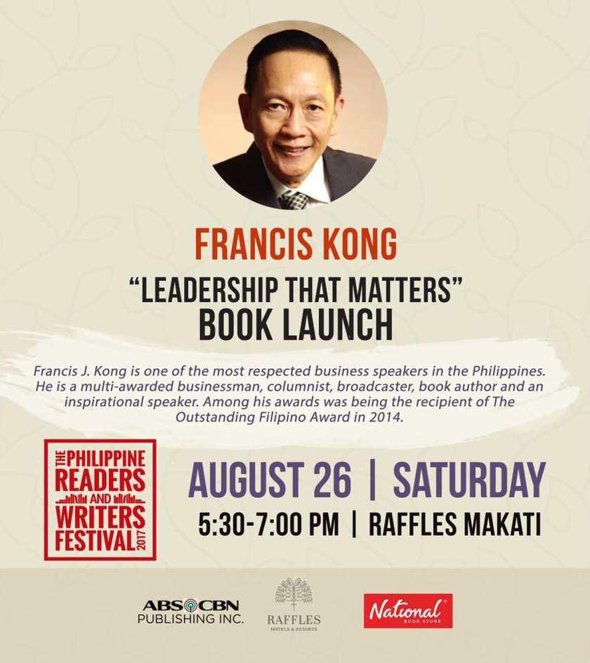 Francis Kong - Leadership That Matters