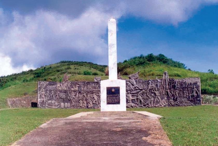 Battle of Pulang Lupa Marker
