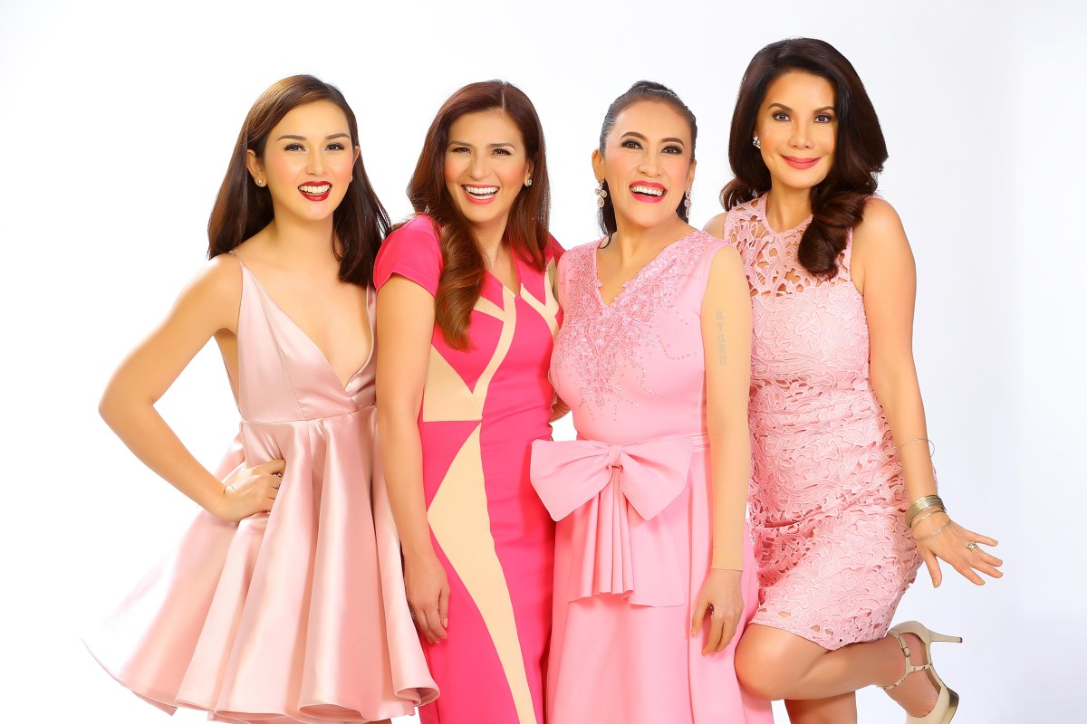 Ai delas Alas teams up with Zsa Zsa Padilla, Carmi Martin & Beauty Gonzales in 'Bes and the Beshies'