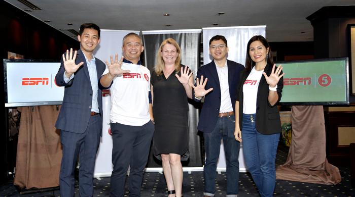 TV5, ESPN launch ESPN 5 to serve Filipino sportsfans