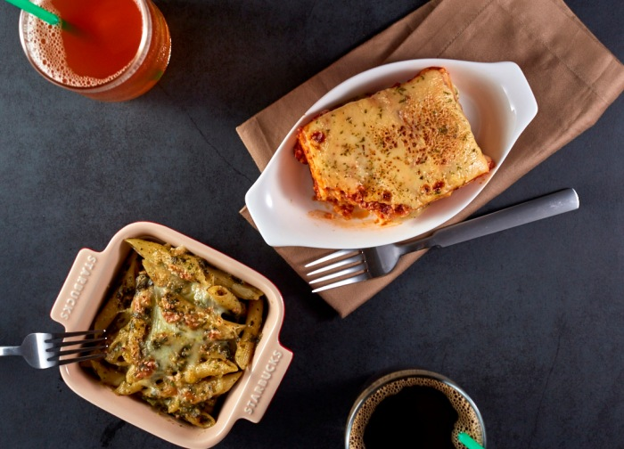 Starbucks introduces new pasta dishes and Bistro Bowls to pair with your favorite beverage