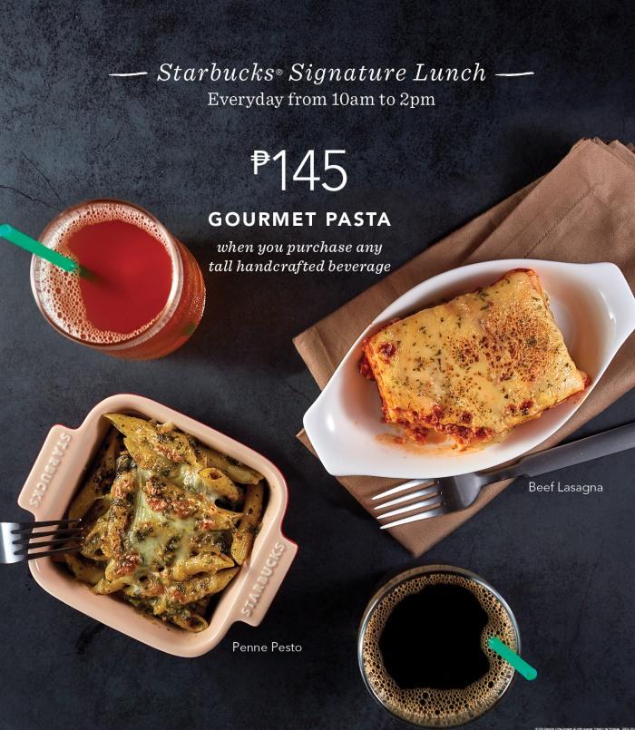 Starbucks Gourmet Pasta