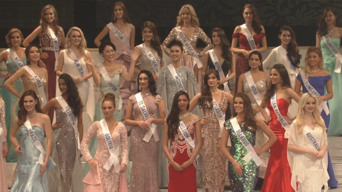Miss International 2017 contestants