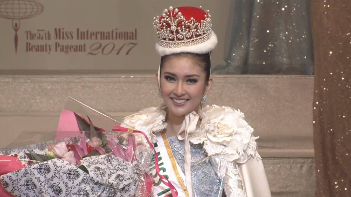 Indonesia's Kevin Lilliana crowned Miss International 2017