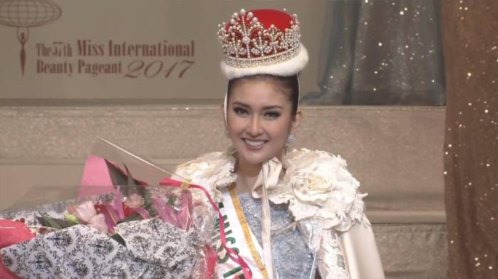 Indonesia's Kevin Lilliana crowned Miss International2017