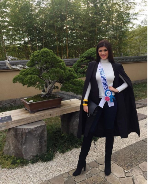 Mariel de Leon in Japan for Miss International 2017
