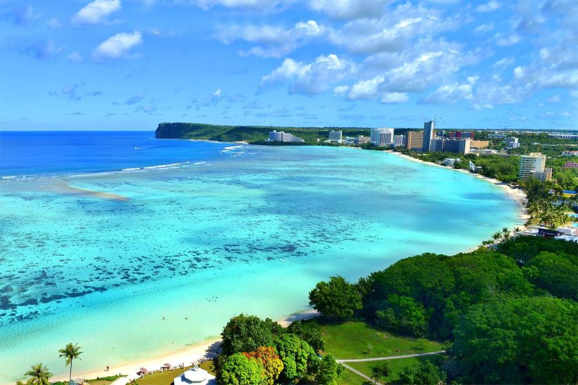 Guam is one of the hottest destinations to date