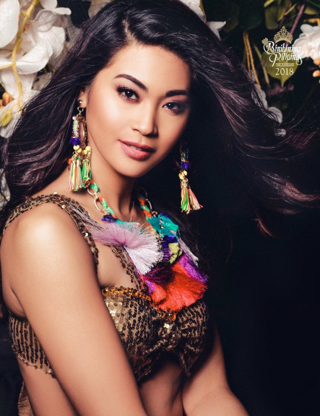 Aya Abisamis for Binibining Pilipinas 2018