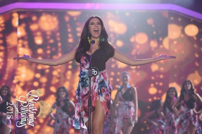 Miss Universe Philippines 2018 Catriona Gray
