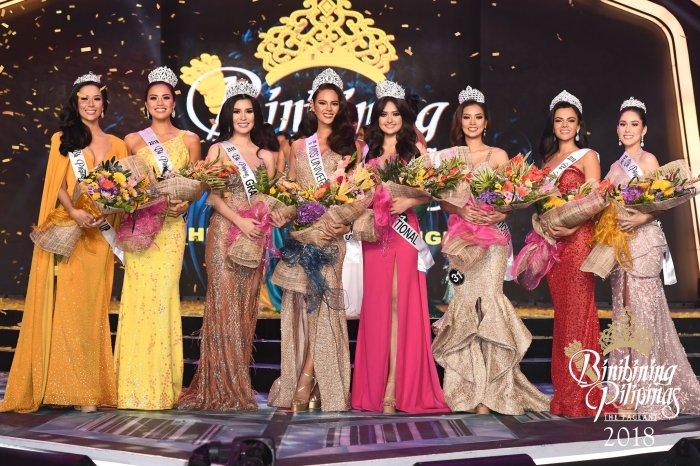 The Crowning of Catriona Gray + Binibining Pilipinas 2018 Winners'Circle