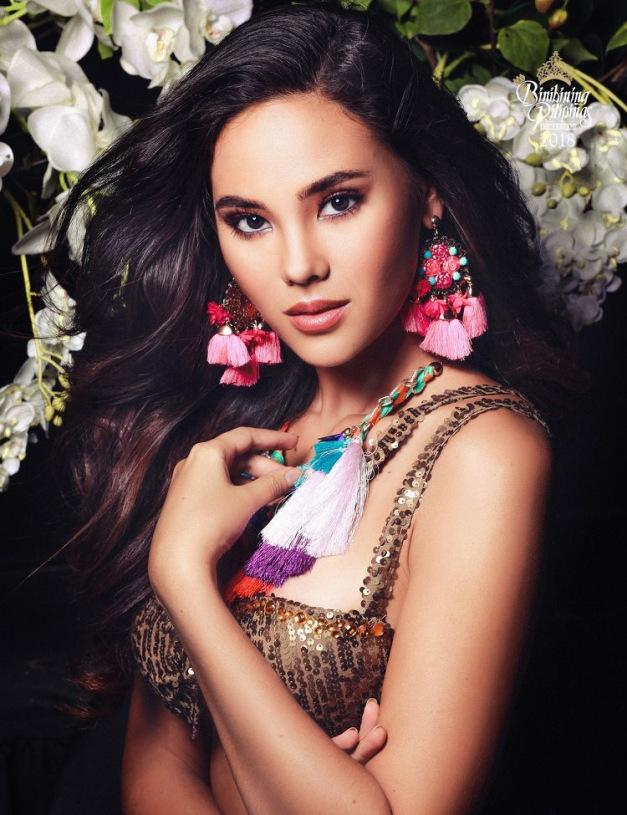 Catriona Gray for Binibining Pilipinas 2018