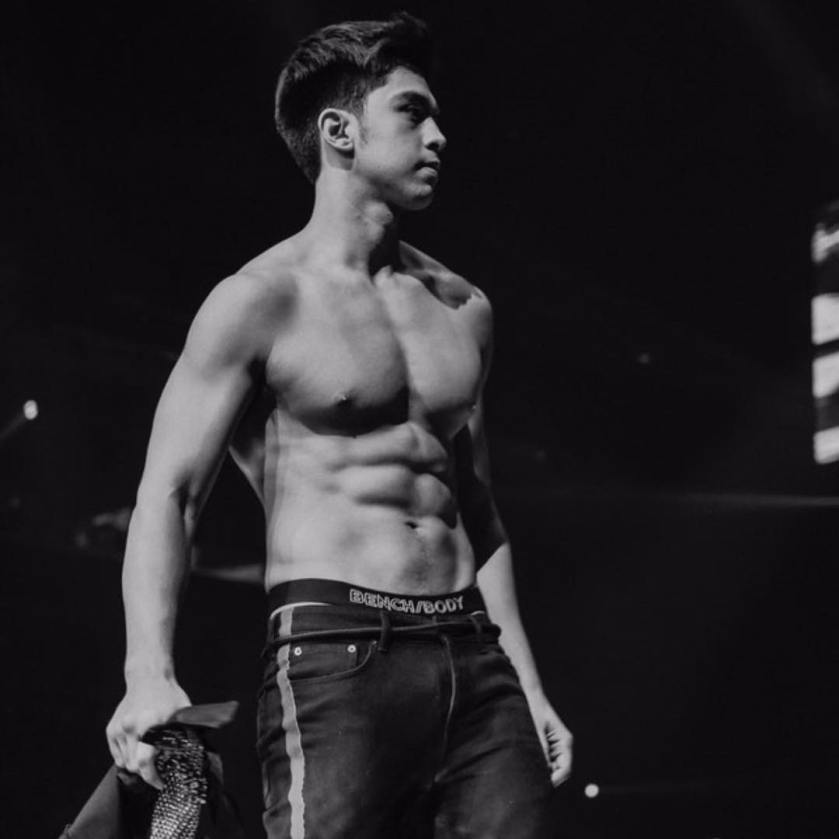 Derrick Monasterio Black and White