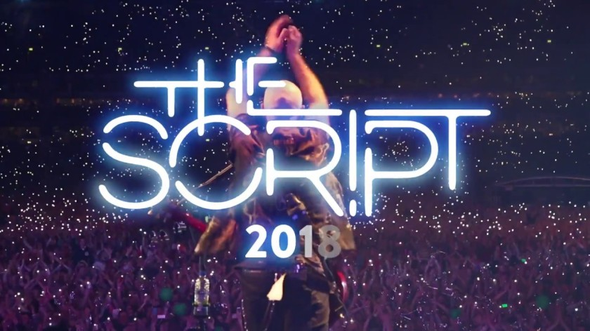 The Script 2018 concert in Manila
