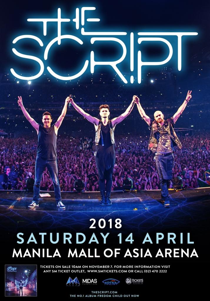 The Script Manila Poster