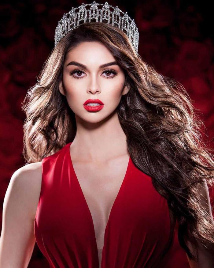 Miss Nevada USA 2018 Carolina Urrea RED