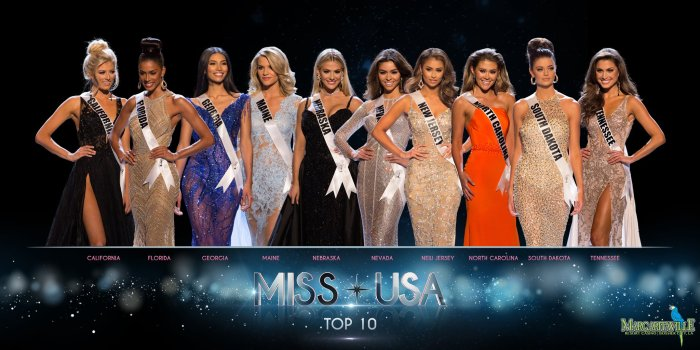 Miss USA 2018 Top 10