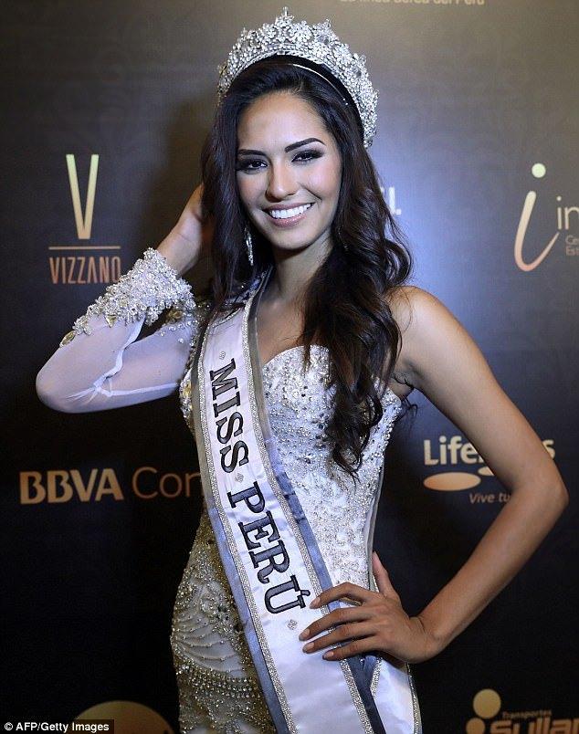 Miss Peru Universe 2018 Romina Lozano