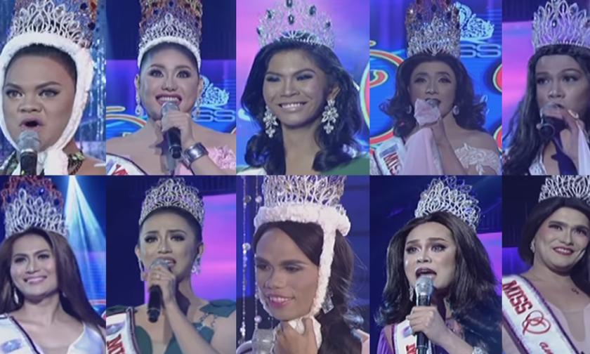 Miss Q & A finalists