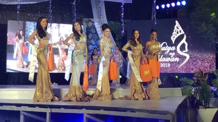 Mutya ng Palawan 2018 winners