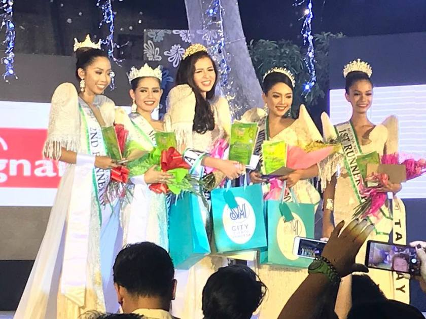 Mutya ng Palawan 2018 winner is Aborlan