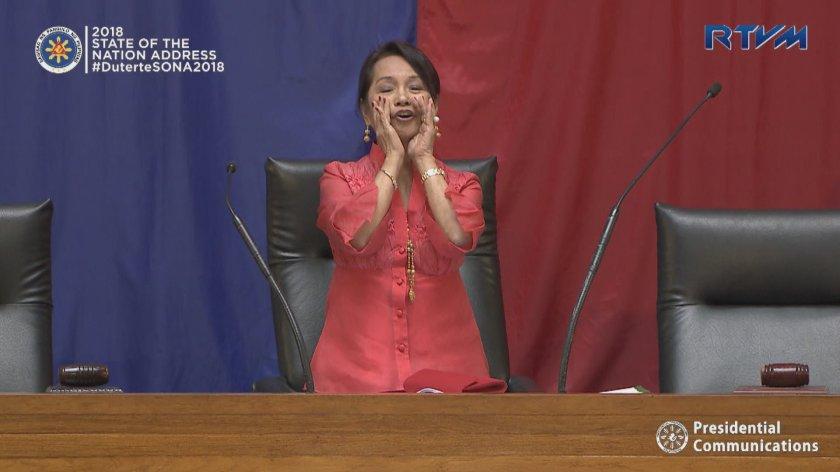Gloria Macapagal Arroyo #SONA2018