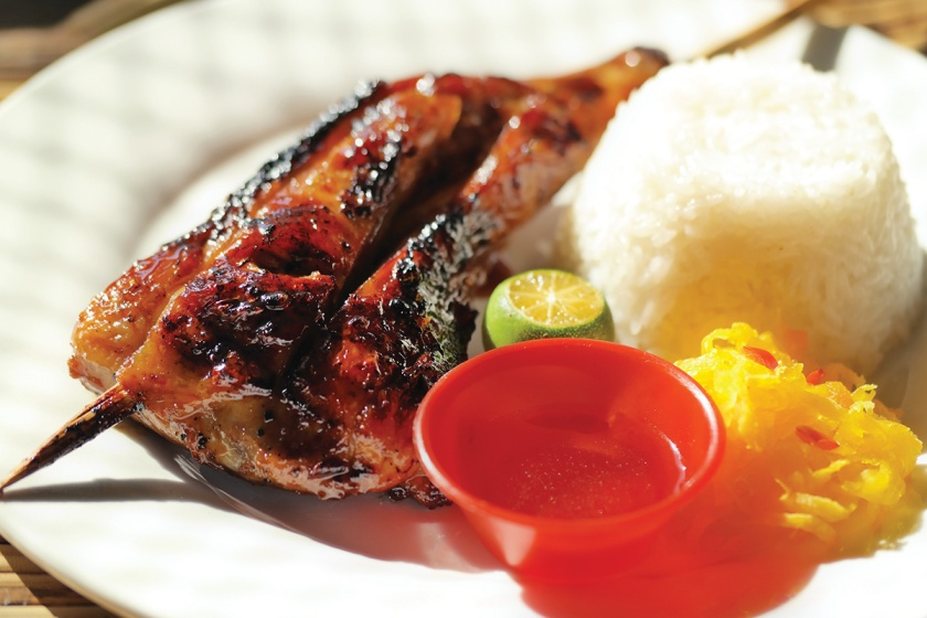 Haim Chicken from Palawan now open for Franchise 6