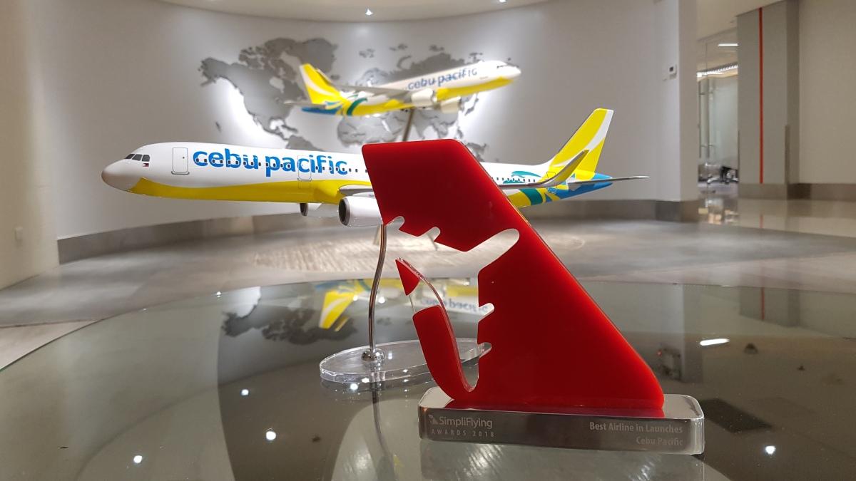 Cebu Pacific wins in SimpliFlying Awards 2018