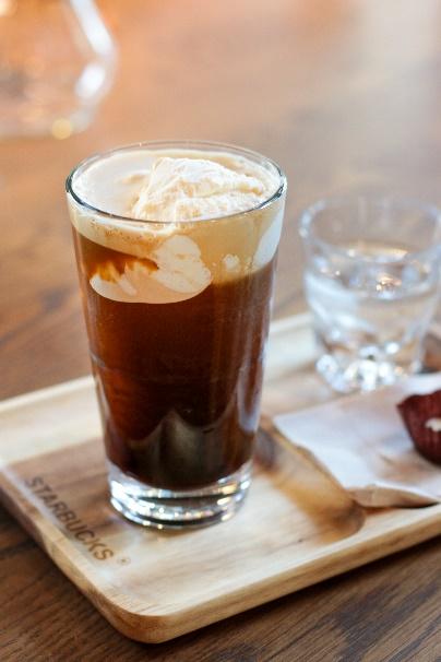 Starbucks Cold Brew Float