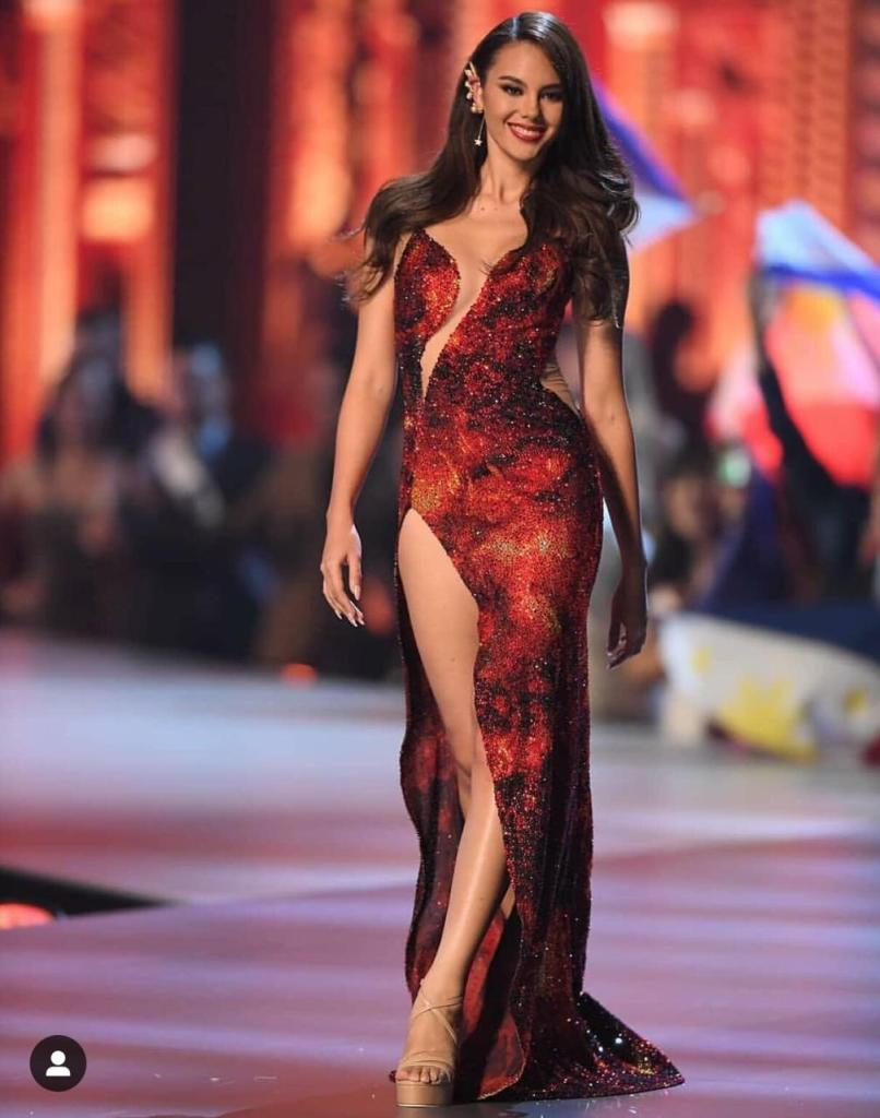 Catriona Gray Evening Gown