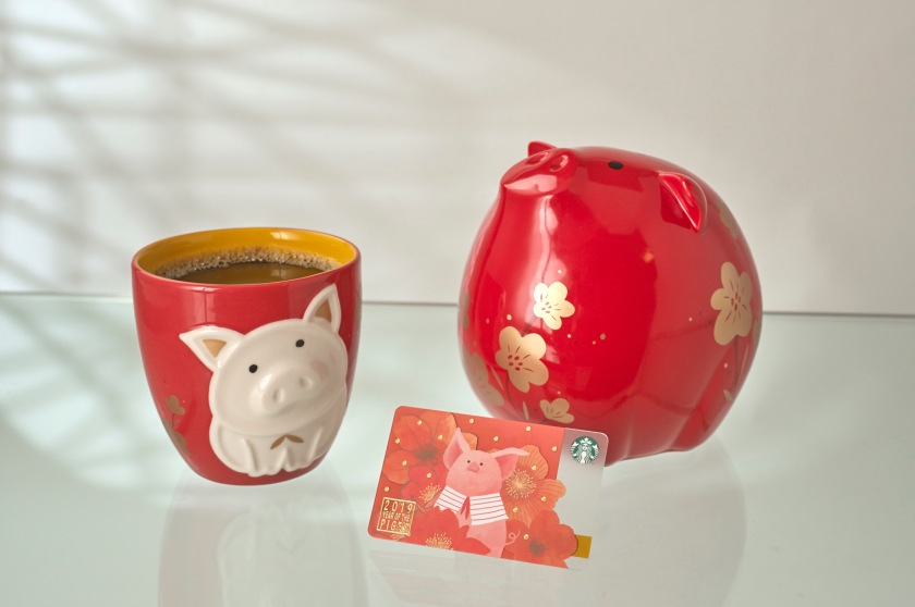 year of the pig starbucks collection
